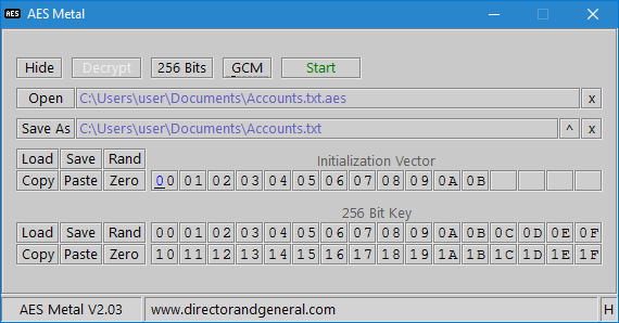 AES Metal IV Key File